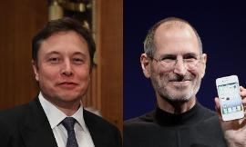 How would you compare Elon Musk and Steve Jobs?