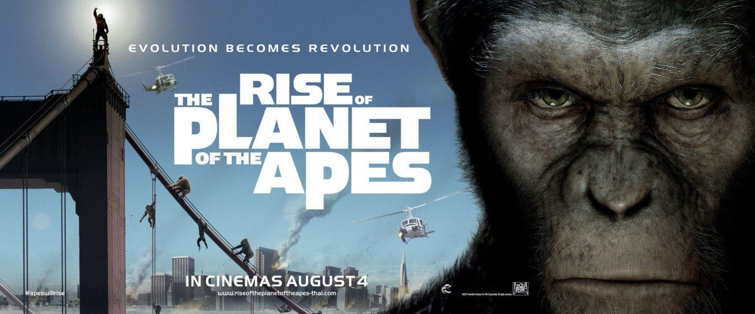 Are there any movies like Rise of the Planet of the Apes?
