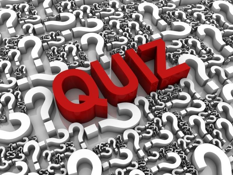 If quizzes are quizzical, what are tests?