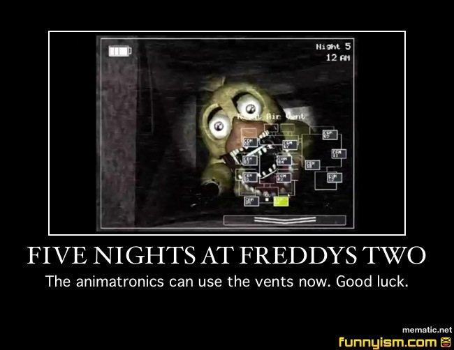 who are you from fnaf 2