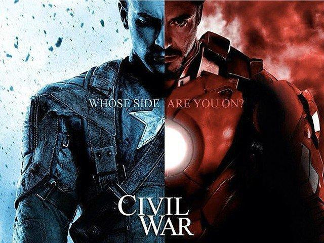 Team Iron Man Or Captain America