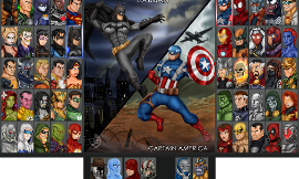 Marvel or DC Comics?