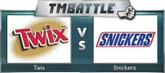 which one would you rather have or eat, snickers or twix?