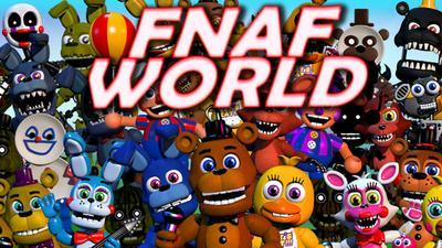 what did you think of fnaf world ?
