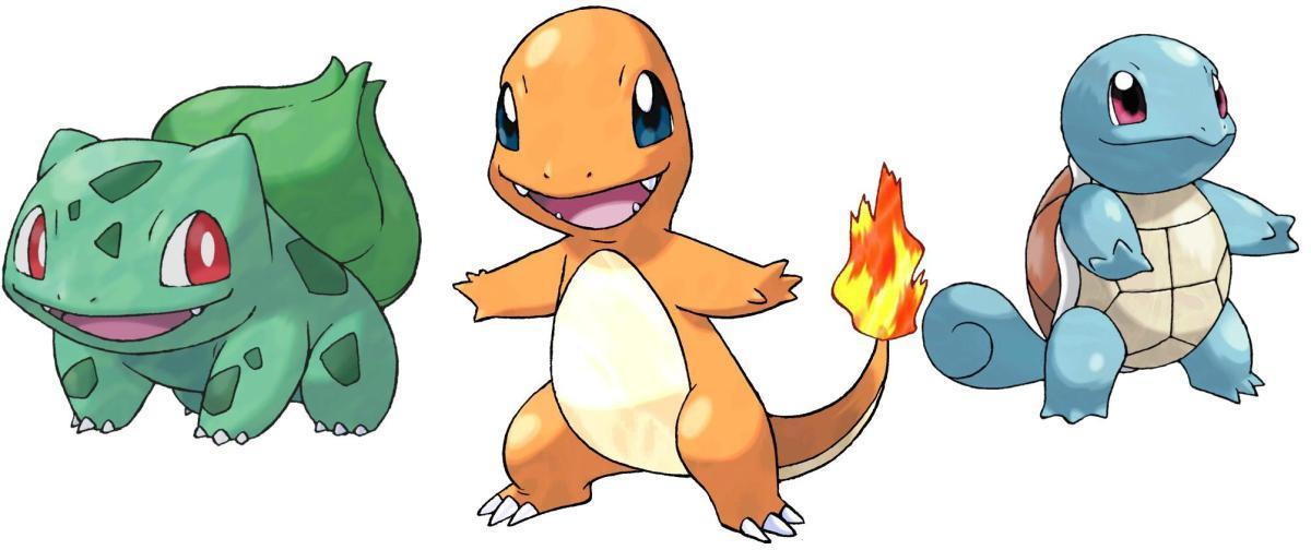 What's the difficulty level of generation 1 starters in the games?
