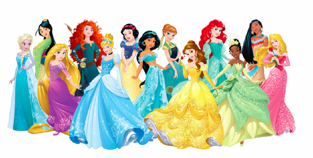 Which disney princess did NOT fall in love?