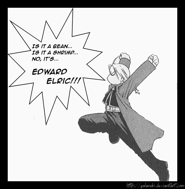Do you think Edward Elric is short?