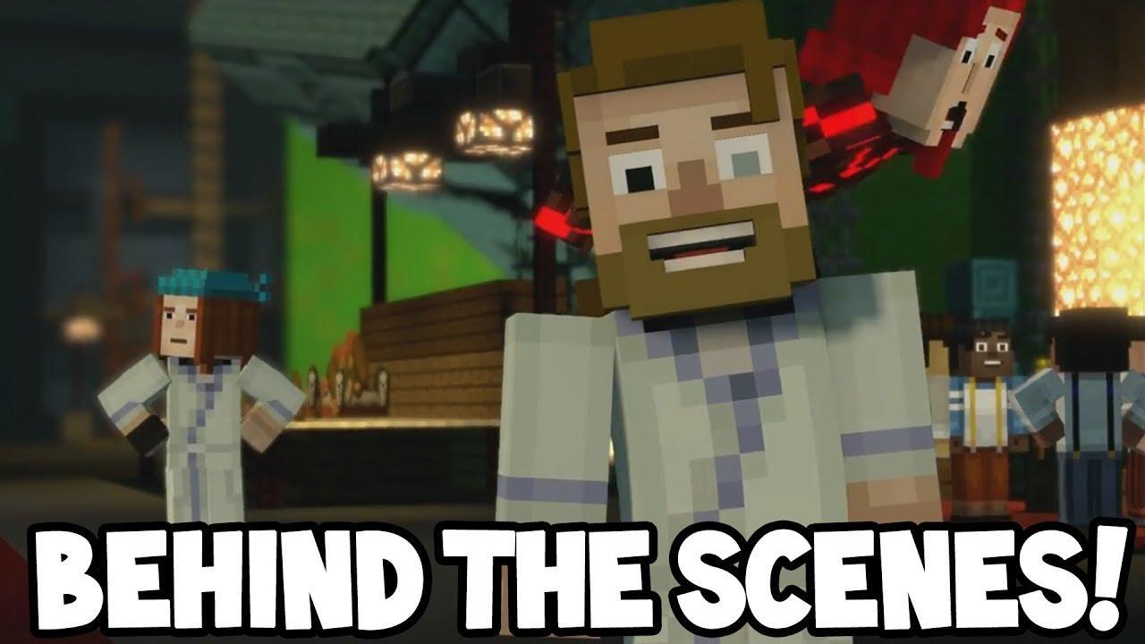 Have you seen the behind the scenes animation for mcsm?