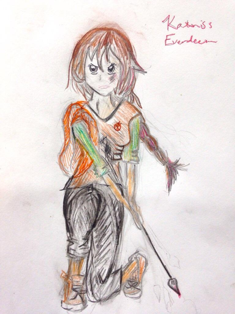 Katniss Everdeen: Complete by me