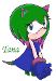 This is Tana the Hedgehog. My second fan character.