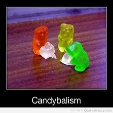 oh....my god GUMMY BEARS YUM!!!! but this is kinda well funny/kinda scary