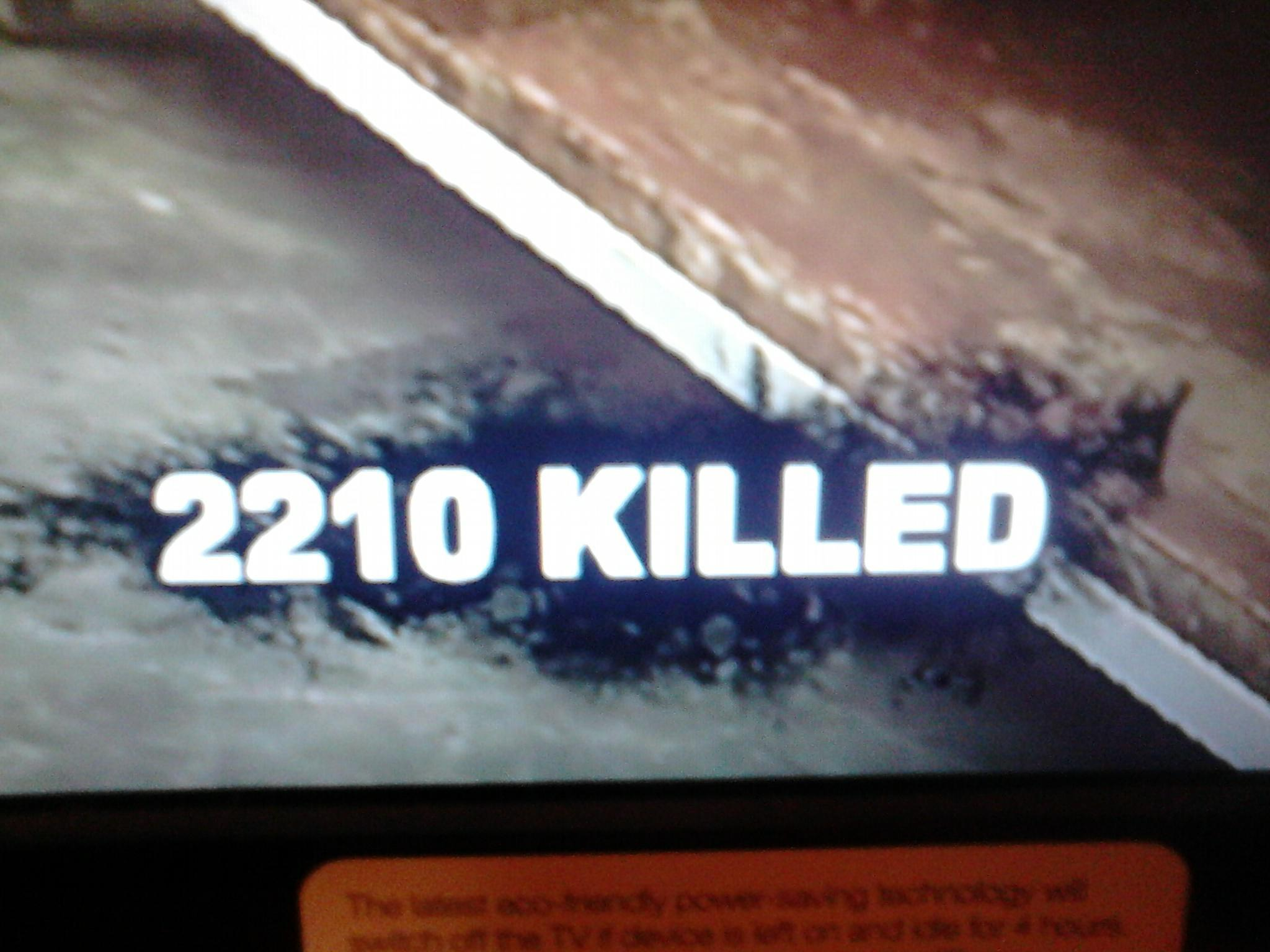 I Got 99 problems but 2210 zombies ain't none!