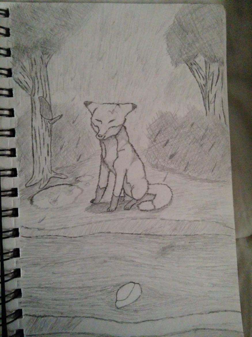 This is a picture I drew today during class(I was bored).