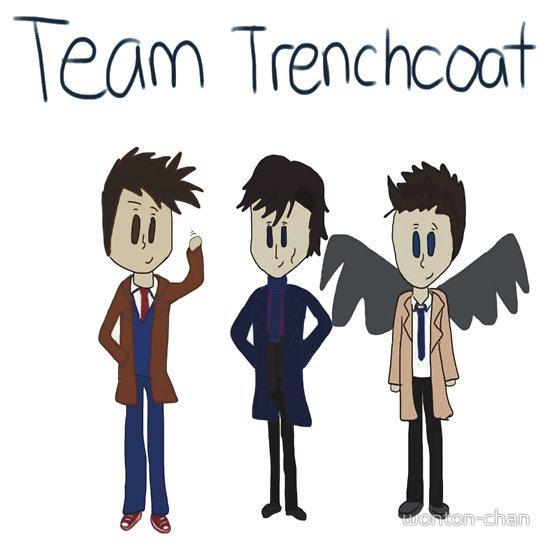 TEAM TRENCH COAT FOR LIFE tbh, they all look faboulouso in trech coats