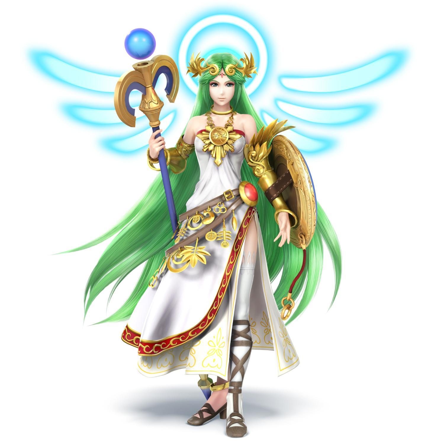 Lady Palutena Rules!!!