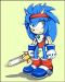 was suposed to be a real sonic charater