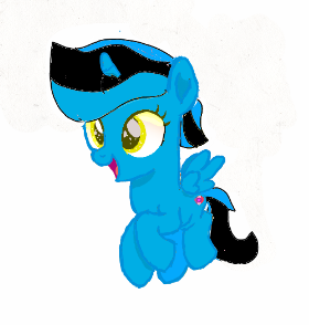 Isnt she just adorable? Starlight is my OC