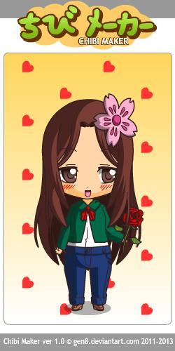 This is pretty much the chibi version of me!