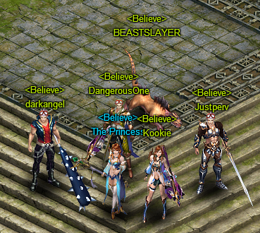 Me and my Wartune guild when we first started. I'm the Guild Master :)