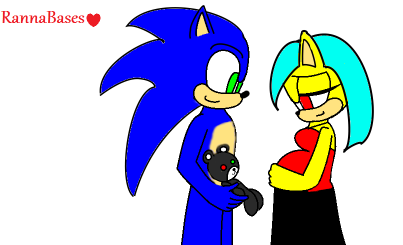 Sonic and Titan having a baby.
