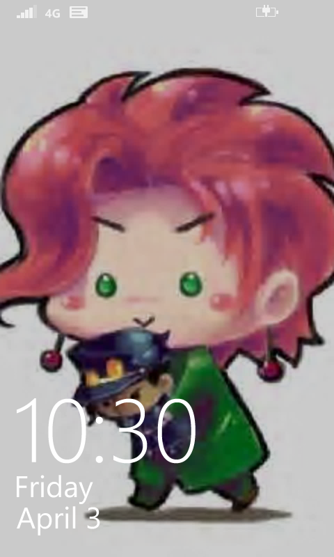My lock screen! :3